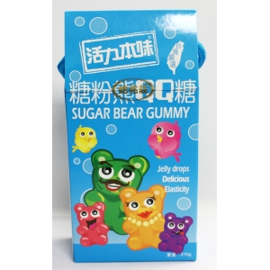CANDY-SUGAR BEAR GUMMY 210GMX12BOX