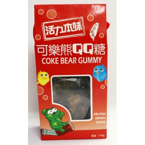 CANDY-COKE BEAR GUMMY 210GMX12BOX