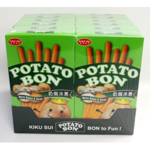 WHITE SAUCE&ONION PATATO STICK 19GMX2BGX24BOX