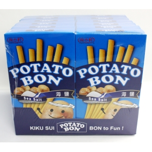 SEA SALT PATATO STICK 19GMX2BGX24BOX