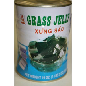 CANNED GRASS JELLY 19OZx24*NS