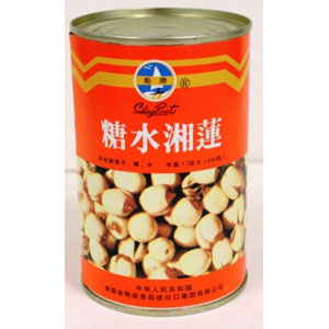 Canned Lotus Seeds In Syrup 400Gx48*NS