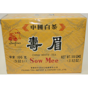 Chinese  white Tea ( Sow Mee) 100GX50Boxes