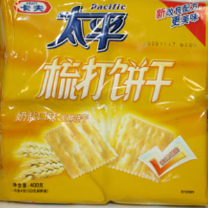 KRAFT PACIFIC soda crackers (Y)400Gx12Bag