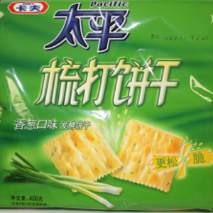 KRAFT PACIFIC soda crackers (R)400Gx12Bag