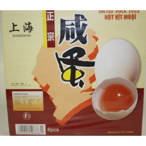 Salted duck eggs 6Px24