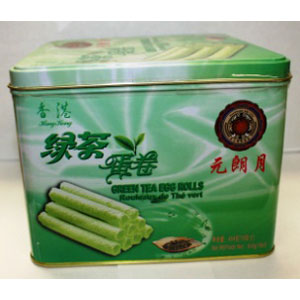 Green Tea Egg Rolls 454GX12