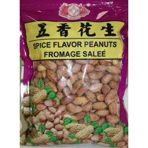 Dried wu xiang -peanuts 400Gx50*NS
