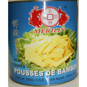 Bamboo Shoots (Strip) 2950G/6.5LBx6