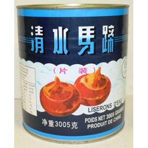 Canned water chestnut 3005Gx6