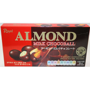 Almond soft milk chocolat 35gX10X6