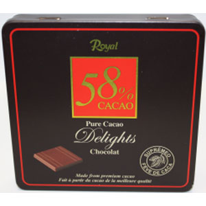 Royal pure cacao delights chocolat 90gX12X4