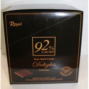 Royal pure cacao 110gX12X4