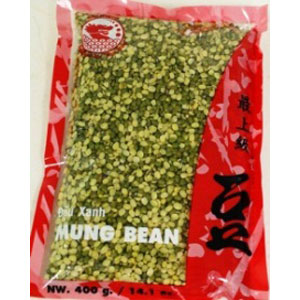 Unpeel splited mung bean 400Gx50