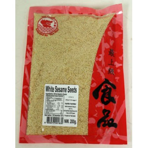 White sesame seeds 200Gx70