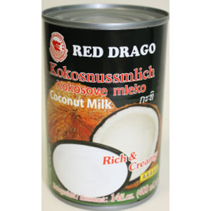 RED DRAGO COCONUT MILK 400MLX24