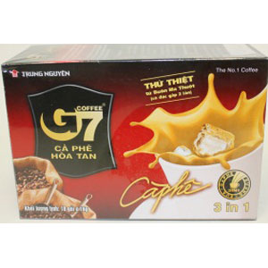 G7 3 in 1 Instant coffee (16gx18sachets)X24