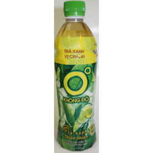 Lemon Green Tea 500MLx24